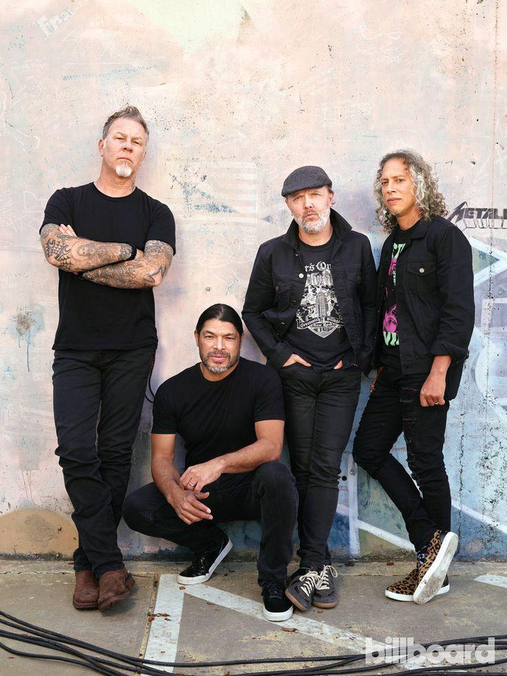 Metallica: Photos From The Billboard Cover Shoot | Billboard