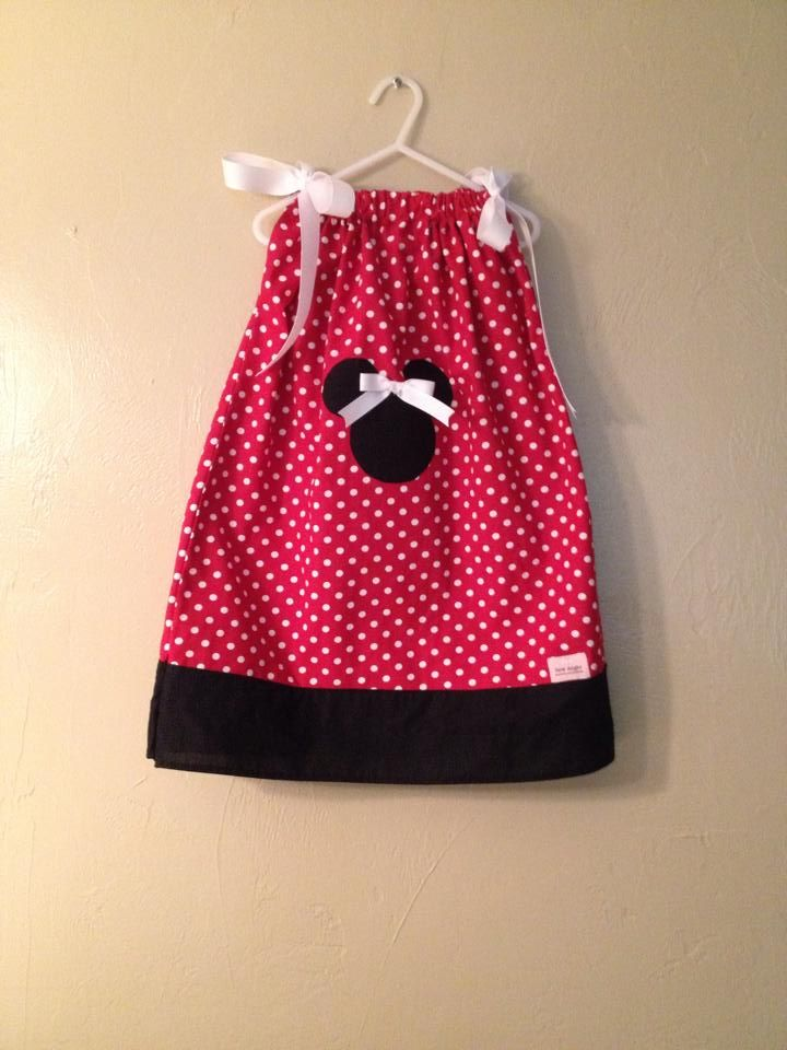 Minnie Mouse pillowcase dress $25.00 @ ://.facebook.com/ & 301 best Sew--Pillowcase dresses/Tops images on Pinterest ... pillowsntoast.com