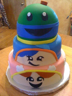 team umizoomi birthday  Found on queenscakes.blo...