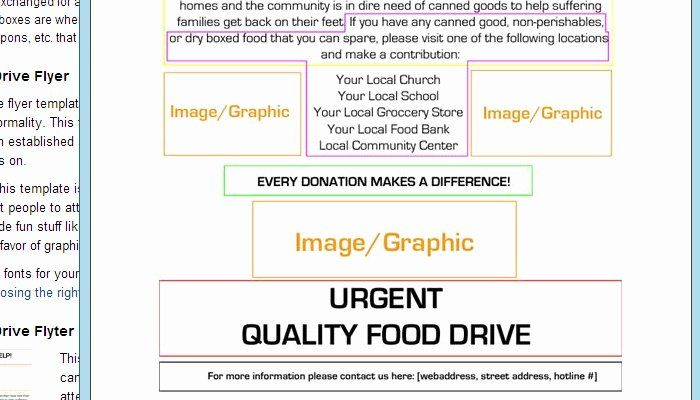 Canned Food Drive Flyer Template Fresh 5 Canned Food Drive Flyer Templates Food Drive Flyer Flyer Template Canned Food