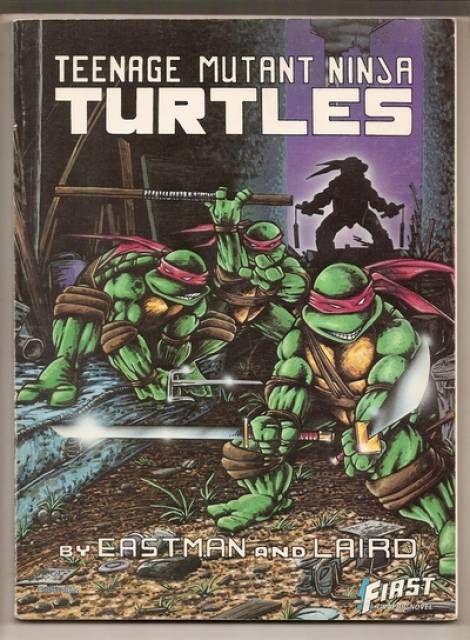 First Teenage Mutant Ninja Turtles Graphic Novel, Book I