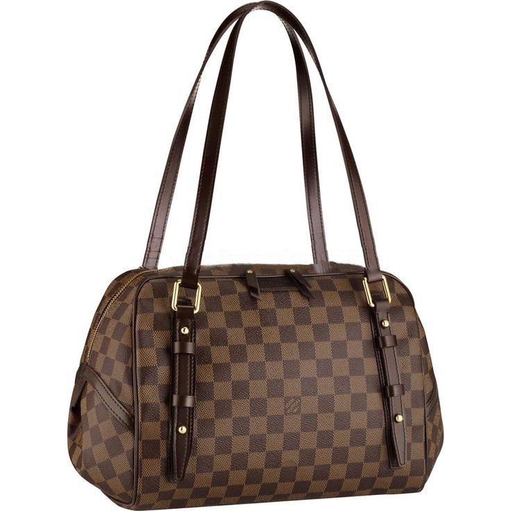 Louis Vuitton Outlet Online Damier Ebene Canvas Rivington GM N41 The Best Seller You Have Ever Seen!