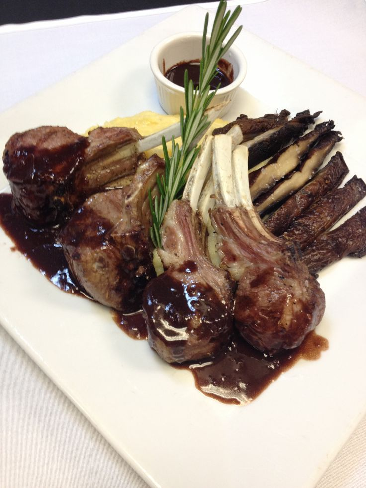 Have a delicious thursday rack of lamb cooked to