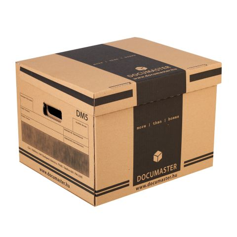 DM5 jelű irattári doboz   Documaster