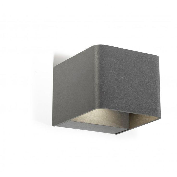 LedsC4 Lighting Wilson 05-9683-Z5-T2 Urban Grey High Purity Aluminium & Matt…