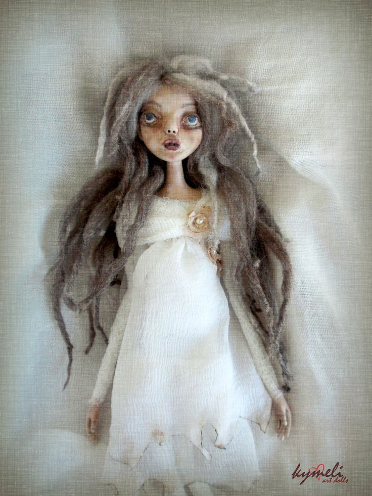 Haunted Agnes OOAK ArtDoll by Kymeli
