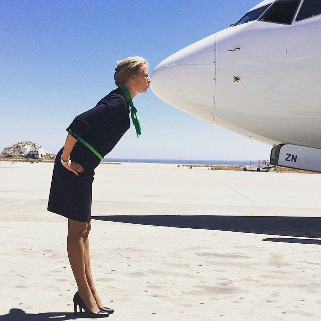 "Aircraft:  ""Kiss My Nose!"""