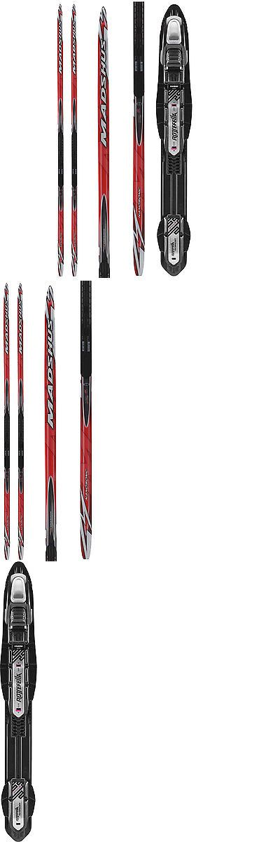 Skis 36267: Madshus Nano Carbon Xc Skis Mens 205Cm (65-75) + Rossignol Touring Bindings -> BUY IT NOW ONLY: $309.95 on eBay!