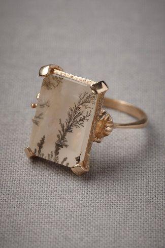 vintage ring - love the subtle print