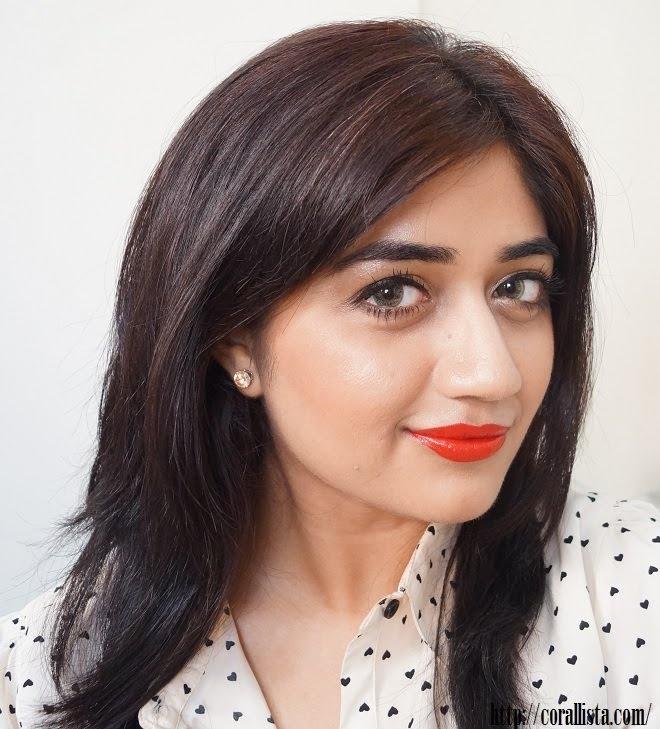Kareena Kapoor Orange Lips Makeup Tutorial | corallista