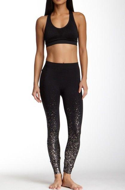 Fun workout leggings Sponsored by Nordstrom Rack.