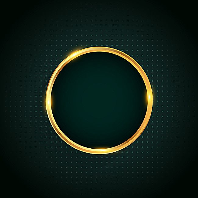 Golden Circle Halo Background Material Halo Backgrounds Golden Circle Blue Background Images