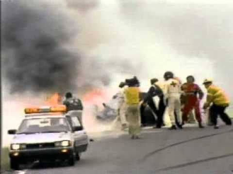 F1 - 1982 - Paletti Riccardo - Fatal Crash In Race At The Start At Montr...