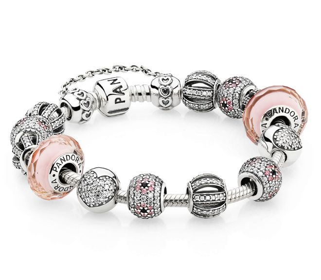 Pretty in pink #PANDORAbracelet style inspiration