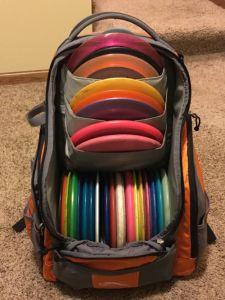 Best Disc Golf Backpack UPD Rebel v3