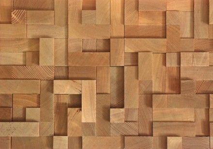 Modern 3d Brick Pattern Wallpaper Wood Block Texture Textures Amp Details Pinterest