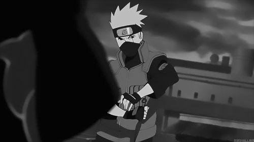 Kakashi in Naruto Shippuden opening 6.