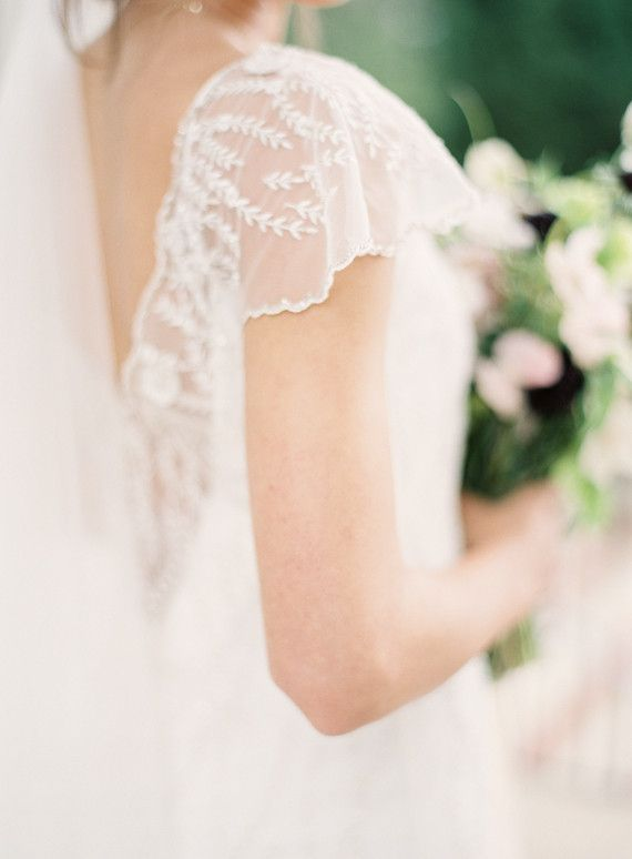 robe de mariée / dentelle / Sarah Janks wedding dress