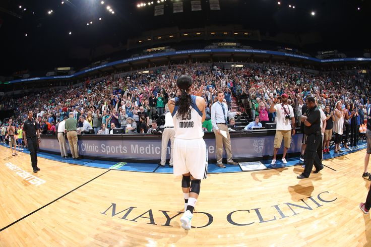 Maya Moore addresses the crowd after the Lynx get their biggest win of the season vs. the Phoenix Mercury! The win ended the Mercury's franchise-record 16-game winning streak.