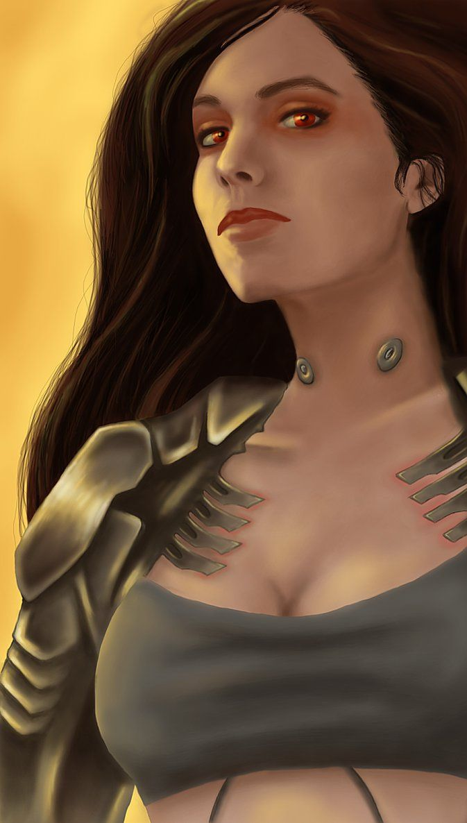 Hand-painted digital portrait of Glory, the mechanized combat medic from Shadowrun Returns - Dragonfall. Took me around 14 hours, probably more if you count the time erasing and redo-ing. I'm still...