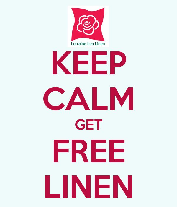 KEEP CALM GET FREE LINEN! I love giving away so much free stuff to my party hosts!! Want some?
