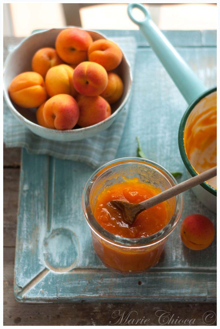 Confiture miel-abricot qui déchire… ( Recette express, IG Bas )