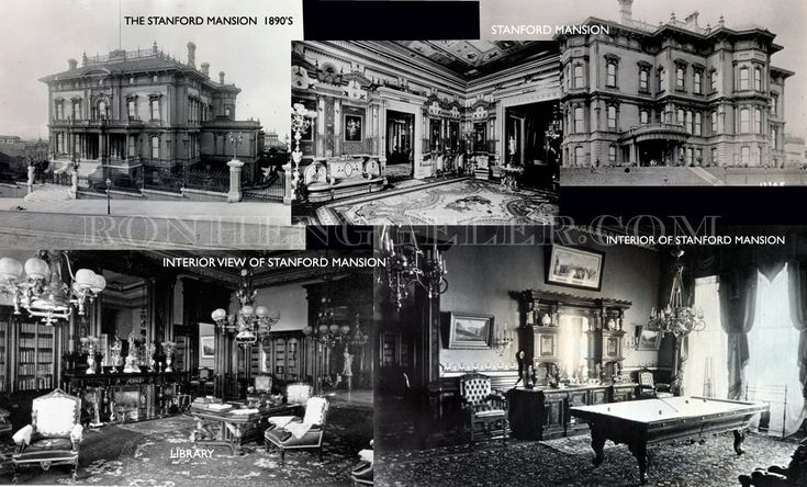 Leland Stanford Mansion Nob Hill 1906 History