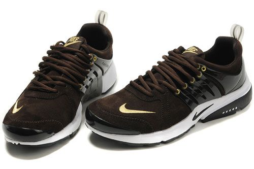 Kvinder Nike Free Run Anti Pels Sko Brun Guld Udsalg