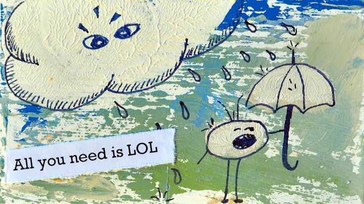 All you need is lol. Miniature art by Bea Pierce.