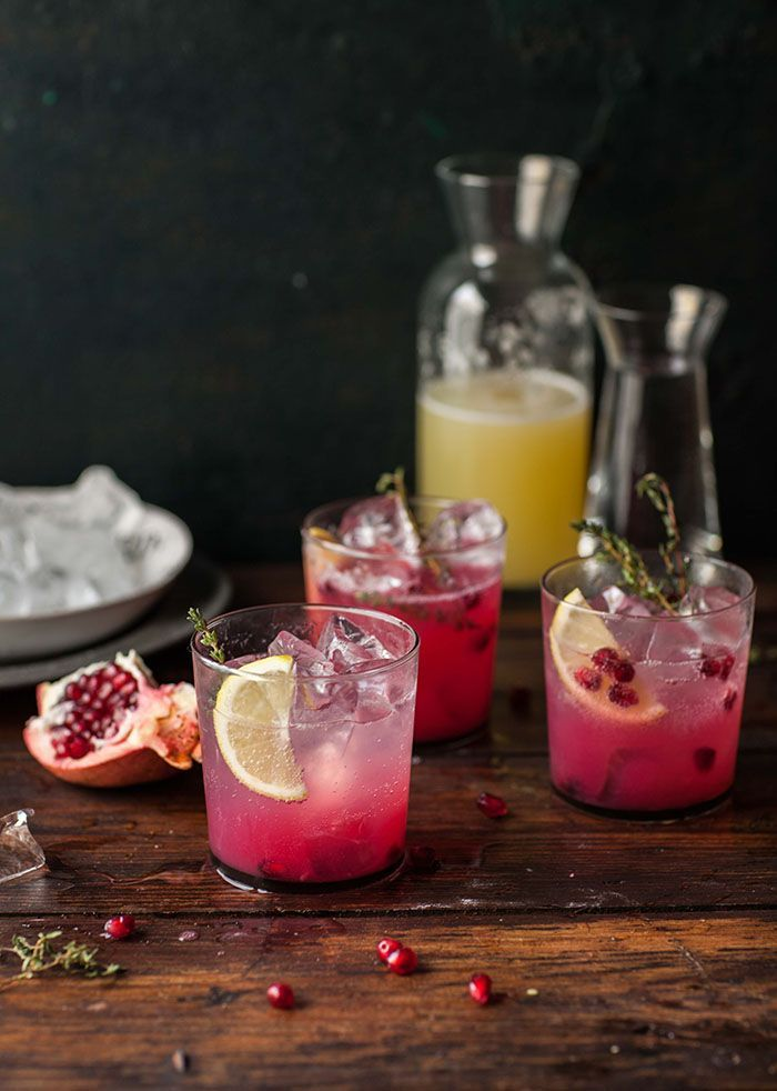 Cool and refreshing with a tart kick. Try this party-ready Pomegranate Punch for a quick and easy summertime cocktail that's sure to be a crowd pleaser.