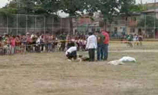 Footballer in Argentina shoots referee dead after he is sent off