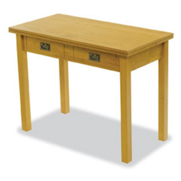 expands from side table to 6 seater table