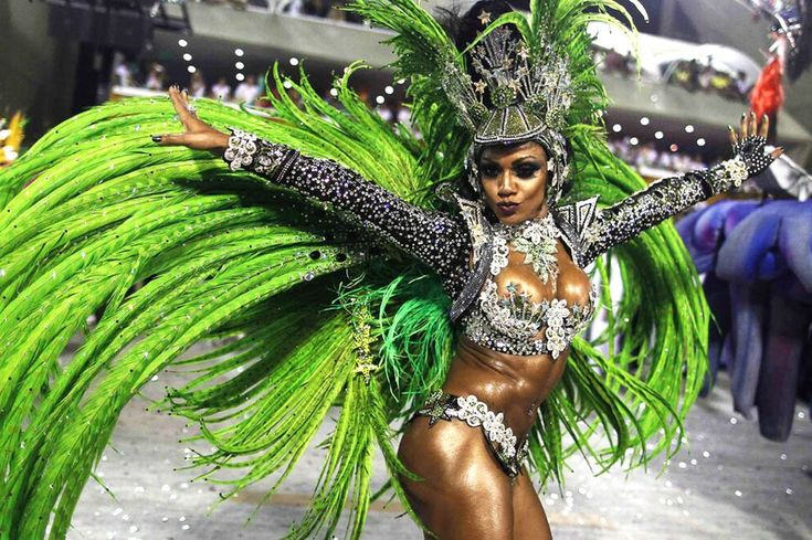 Rio Carnival 2013: Scantily clad Brazilian babes flaunt their assets as they dance night away - Mirror Online