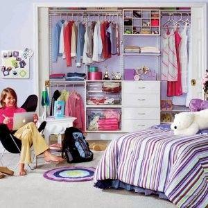 Best 25 teen closet organization ideas on pinterest for Walk in closet ideas for teenage girls