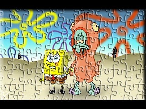 Sponge Bob Squidward New Style Amazing Funny Games For Kids Hello guys, We want to share puzzle games for kids. These are jigsaw puzzle games for your kids. ...