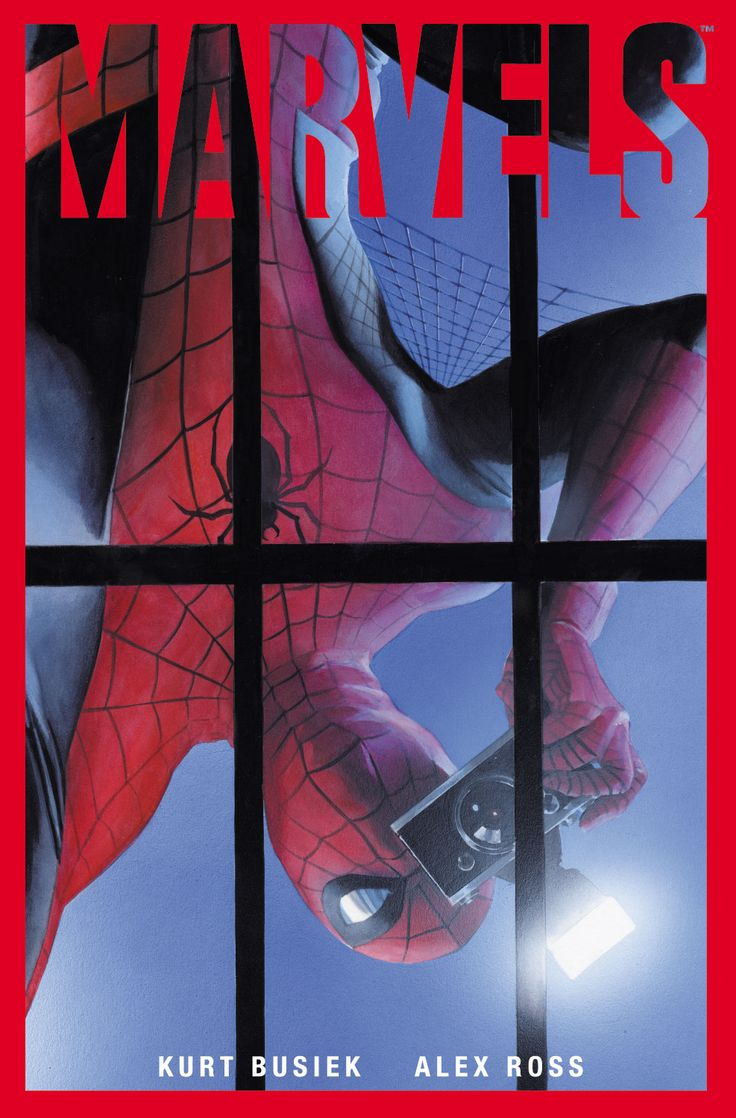 'Marvels' graphic novel by Alex Ross & Kurt Busiek-one of the 5 greatest graphic novels of all time!