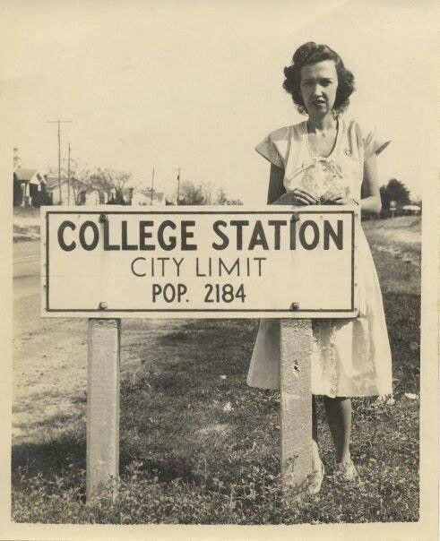 College Station: Today's Population (2011) now 95,142.  Aggieland has grown a BIT ...