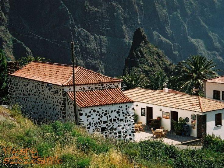 Tradycyjna wioska Masca na Teneryfie