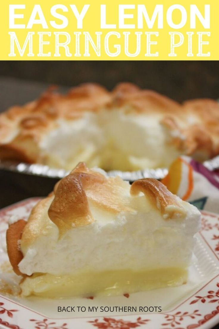 How To Make Lemon Meringue Pie With Sweetened Condensed Milk In 2020 Lemon Meringue Pie Easy Lemon Dessert Recipes Homemade Recipes Dessert