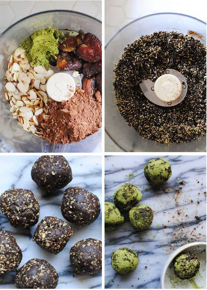 Love Green Tea Make These Batch Of Matcha Energy Balls In 10