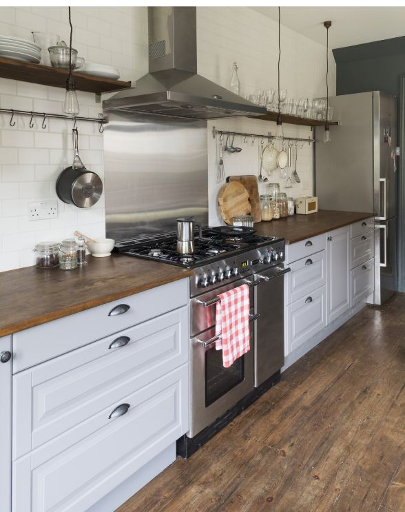 I so very much want top of the line stainless steel appliances in my kitchen