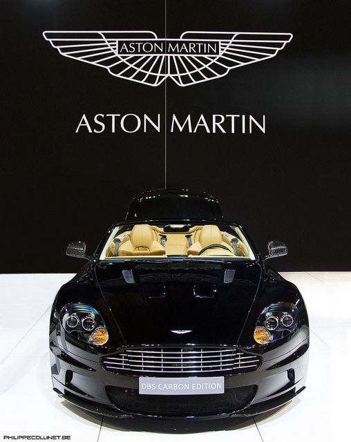 DBS Volante Carbon Black Aston martin by Philippe Collinet Photography, via Flickr