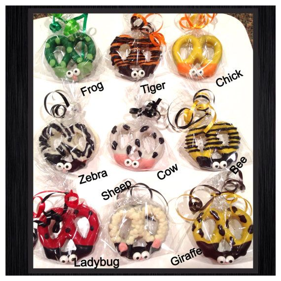 Ladybug Cow Bumble Bee Sheep ZebraGiraffe Chick by Sparklesbaby, $21.00