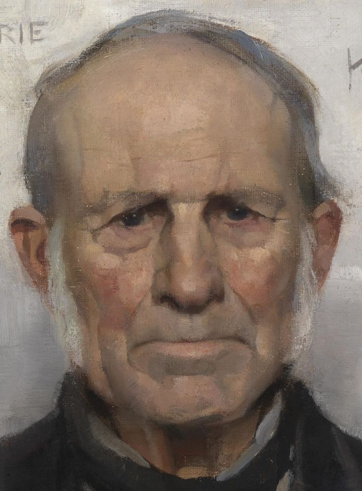 Old Willie: The Village Worthy - by James Guthrie Date painted: 1886 Glasgow Museums