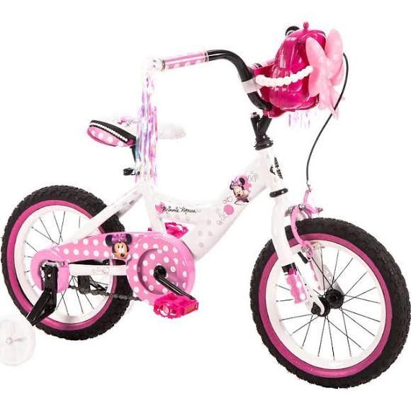 Girls' 14 Inch Huffy Minnie Mouse Bike