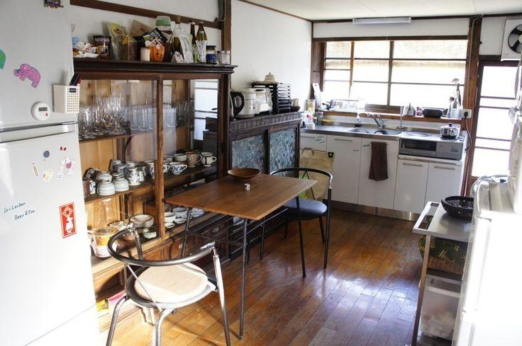 こちらが台所スペース。