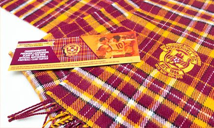 Motherwell FC – Scarves available for collection