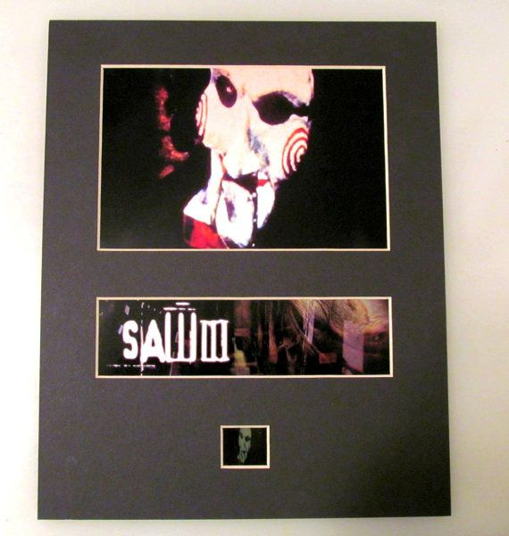 Saw III 3 2006 Single Cell Print Frame Ready Matted Movie 35mm Film Cells Standard Series 8x10