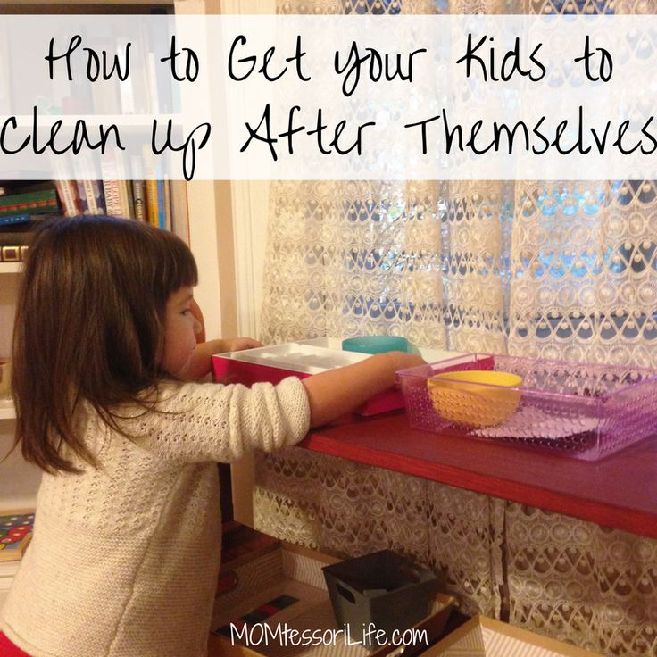 One of the perks to being a Montessori mom is that I'm not constantly cleaning up after my children.  But this isn't just a Montessori thing — all children go through a sensitive …
