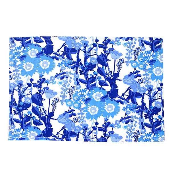 Modflower Blue Placemat (Set of 4)